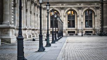 Luminárias na França